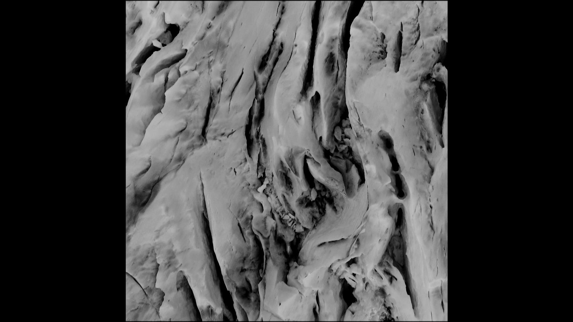 La mémoire des glaciers
